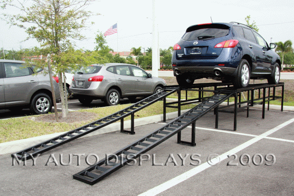 Flatline Car Display Ramps
